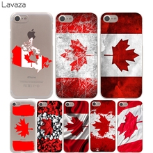 Lavaza Canada flag Cover Case for iPhone X 10 8 7 Plus 6 6S Plus 5 5S SE 5C 4 4S Cases(China)