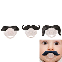 Fashion Funny Dummy Dummies Pacifier Novelty Teeth Moustache Babys Child Soother Beard Nipples Kids Gift Safe Pacifier(China)