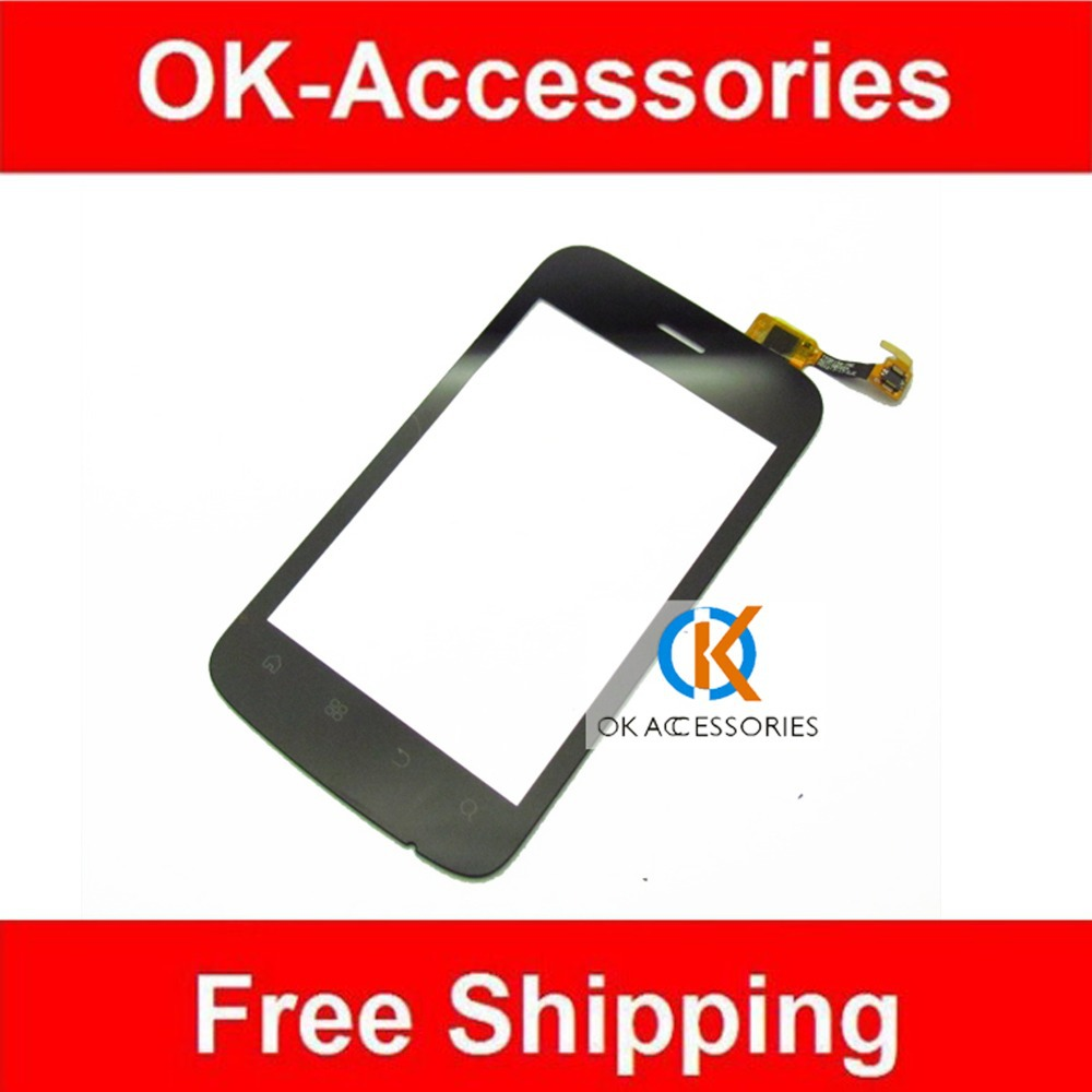 New Replacement For Fly IQ245+ IQ 245+ Touch Screen Digitizer Black Color 1PC /Lot <br><br>Aliexpress