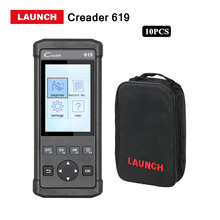 Launch Direct Store 10 Pcs/ lots Launch Direct Store CR619 Scanner Full OBD2 function diagnostic tool CReader 619 DHL free(China)