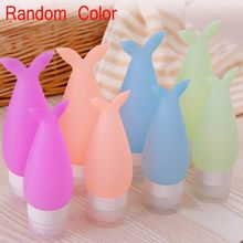 1PC Fashion Portable Empty Plastic Mermaid Cosmetic Cream Lotion Travel Bottle Shampoo Bath Container Squeeze Tubes Makeup Tool