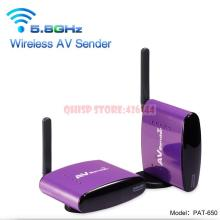 5.8GHz PAT-650 Wireless AV Video Sender Transmitter Receiver Transmit 300M