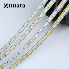 rgb led strip 24V smd 5050 Waterproof IP65 60leds/m 5m/lot Flexible LED Light 5050 LED Strip(China)