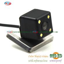 wired Wireless parking camera for Ford 2012 Focus hatchback sedan camera with 2.4Ghz Transmitter receiver ccd LEDS night vision