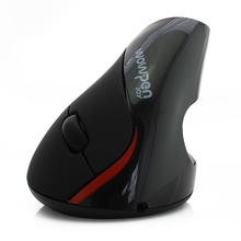 Wireless Mouse 5D 2.4GHz Ergonomic Vertical Optical Game Mice Gaming Mause for PC Computer With 4500MAH built-in Battery