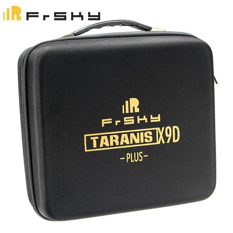 Original Portable Frsky Taranis X9D PLUS Remote Controller Transmitter Bag EVA Handbag Hard Case For RC Models Black<br>
