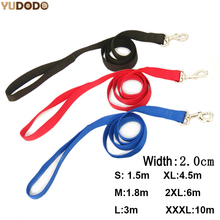 Nylon Dog Leashes 3 Colors 1.5M 1.8M 3M 4.5M 6M 10M Pet Walking Training Leash Cats Dogs Harness Collar Lead Strap Belt