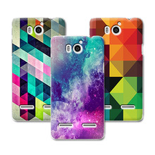 New Fashion Grid Hard Plastic Phone Case Huawei Honor 2 U9508 U8950D T8950D Ascend G600 Case Cover Huawei U9508 Back Cover+Pen