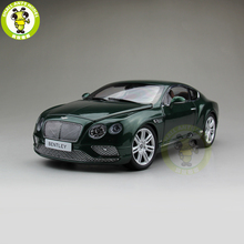 1/18 Paragon Bentley Continental GT Verdant Diecast Metal Model car toy Green PA-98222L Gift Collection Hobby(China)