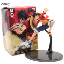 One Piece 2th Gear Monkey D Luffy 1/8 scale painted figure PVC Figure Collectible Toy 19cm KT4053(China)