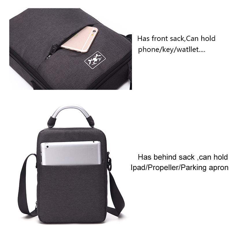 New Arrival Shoulder bag Carrying Storage Bag Case Fancy Oxford cloth For DJI Spark Drone Accessories Free Shipping