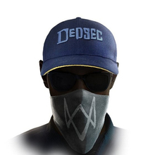LANZOOM 2017 brand game watch dog 2 WD2 Marcus Holloway Cosplay two panels Dedsec baseball cap cool personality hat