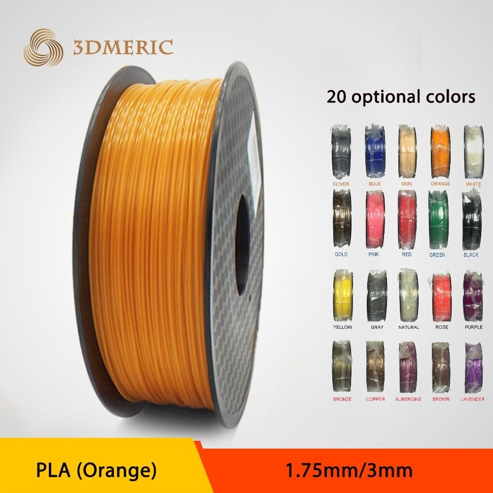 Wholesale 3D Printer Filament PLA 1KG 1.75mm/3mm 1kg Consumables Material For MakerBot/RepRap/UP/Mendel/Ultimaker/Makergear<br><br>Aliexpress