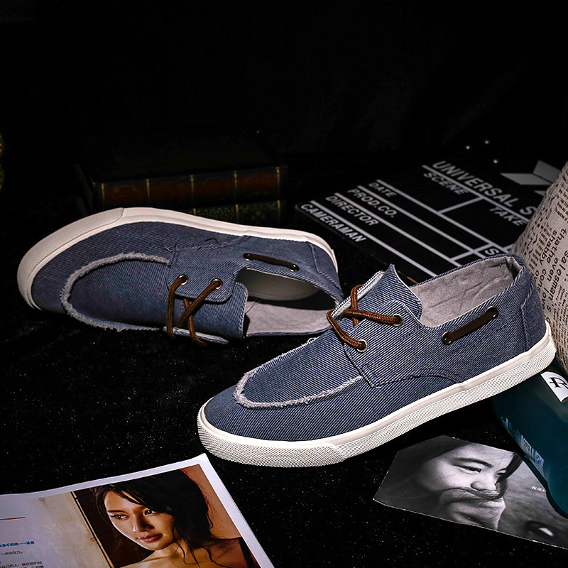 2016 spring new ZIMNAFR BRAND canvas shoes men low tie shoes FLAT HEEL casual shoes Korean version FASHION MALE FALTS 38-44<br><br>Aliexpress