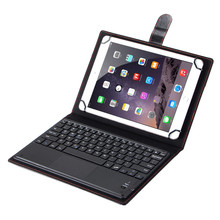 New 2 in 1 Detachable Bluetooth Touchpad Keyboard + Folio PU Leather Stand Case Cover For Samsung Galaxy Tab S3 9.7 T820 T825