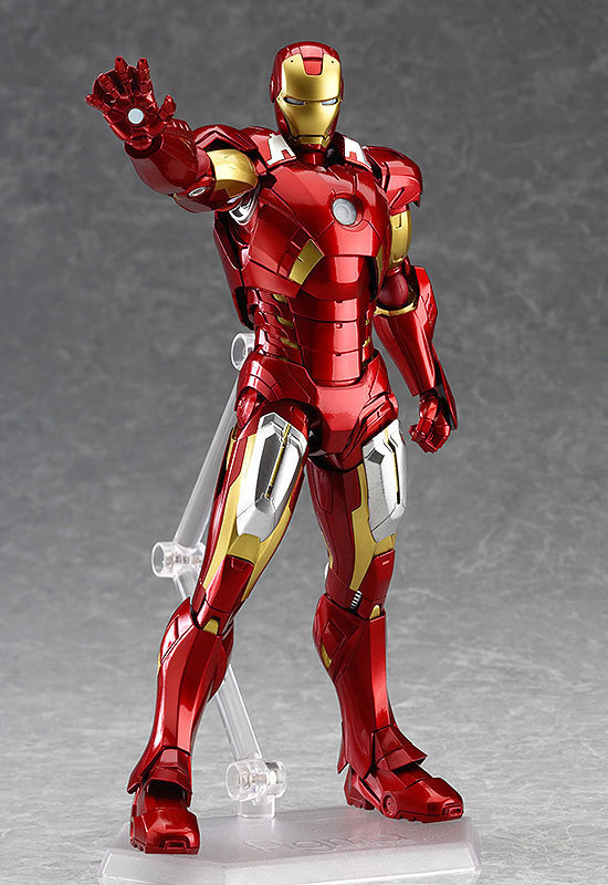 New hot sale anime figure figma 217 the Avengers Age of Ultron Iron Man Collectible Gifts for Children 16CM Free Shipping<br><br>Aliexpress