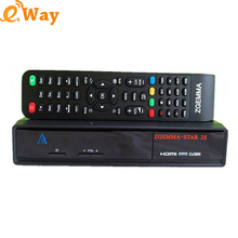 DHL 5pcs/lot Zgemma star 2S+DVB-S2 Twin Tuner MIPS Processor set top box support IPTV streaming server Satellite Receiver tv box