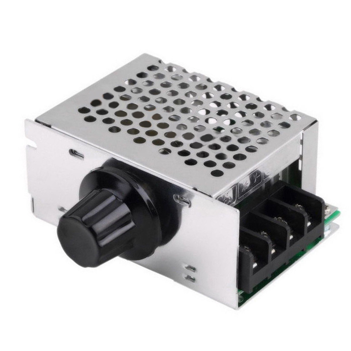 SCR Voltage Regulator Dimmer 4000W 220V AC Stable Motor Speed Temperature Controller Module for Electric Iron Lamps Mayitr