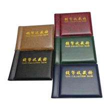 Best Sale New Hot Photo Sticker Album Collecting Coin Album 60 Holders Coin Collection Album Book