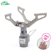 BRS-3000T Mini Titanium Camping Stove 2700W Cooker Outdoor Stove Gas Burner Gas Stove Picnic Ultralight Foldable