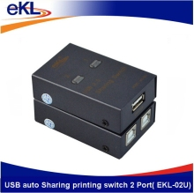 eKL High quality 2 ports USB device sharing switch