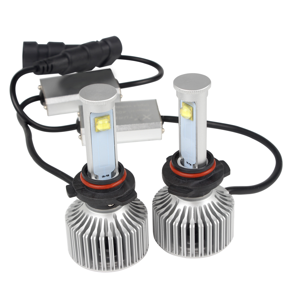 1 Pair 9005 All-in-one Car LED Headlight 6000K 3600LM Waterproof Automobiles Headlamp Version of X7 LED Light Source Car-styling<br><br>Aliexpress