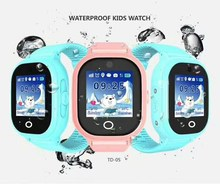 1PC 2017 new GPS tracking watch for kids IP67 waterproof GPS Smart Watch swim Camera 2MP children Watch touch Screen SOS Call(China)