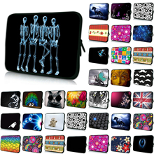 Boys Girls Many Designs New 7 10 12 13 14 15 17 15.4 inch Laptop Notebook PC Sleeve Bag Zipper Cover Soft Cases Neoprene Pouch