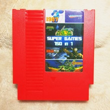 High quality 72 Pins 8 bit Game Cartridge 150 in 1 with Rockman 1 2 3 4 5 6 NINJA TURTLES Contra Kirby's Adventure(China)