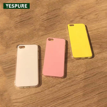 YESPURE Wholesale TPU Cheap Handphone Insurance for IPhone 6/6s Pink Shockproof Cellphone Soft Covers Mobile Cases Antigravity(China)