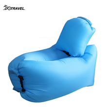 Fast Inflatable Air Sofa Lounger Chair Couch Hammock Portable Foldable waterproof Polyester Outdoor Lazy Bag Sleeping Bag