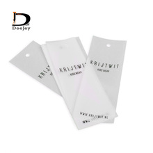 personal brand printed 135gsm sulphuric acid paper tag semi transparent hanging tags for garment accessories 1000pcs lot