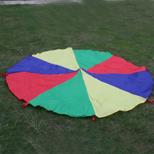 8 Handles 2m Kids Play Rainbow Parachute Outdoor Game Exercise Sport Toy