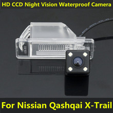 For Nissan Qashqai X Trail X-Trail 2008 2010 2011 2012 Peugeot 307 Hatchback 307CC Car CCD Night Vision Backup Rear View Camera