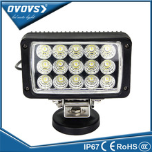 Square Wholesale Led light Flood Spot Beam 12 Volt 45W Led Work Light Headlamp For Truck Tractor