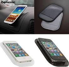 140*85mm Automobiles Interior Accessories for Mobile Phone Car Magic Grip Sticky Pad Anti-Slip Mat Dash Cell Phone Holder