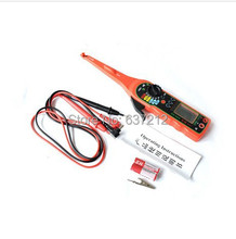 Auto Circuit Tester Electricity Detector Multi-function Auto Power Electric Circuit Tester  Red Yellow With Screen