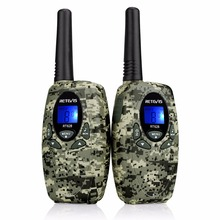 2pcs 4 Color Retevis RT628 Kids Radio Walkie Talkie Child 0.5W license-free PMR Frequency Portable Two Way Radio(China)