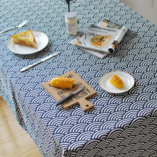 Cotton Tablecloths Home Table cloth rectangular fabric round cloths for Clothes Weeding Banquet wedding Decoration tablecloth(China)