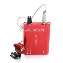 Careshine CE FDA Dental Doctor assistant red Portable LED Head Light Lamp for Dental Surgical Medical Binocular Loupe