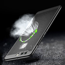 Heat dissipation phone hard Back PC Cases For Huawei P10 P9 P10 Plus Full Cover Case For Huawei P9 P10 P9Plus Protect shell(China)