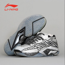 Speical Offer One Pair US 8.5 High-end Lining Badminton Shoes Chen Long Professional Men's Athletic Shoe AYAK011 Li Ning Sneaker