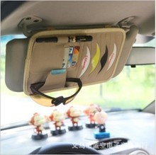 New 8pcs Disks Car CD Holder Auto Visor DVD Disk Card Case Clipper Bag Car CD Bags Cases Free shipping