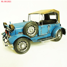 New arrival Retro vintage car NO.0812021 decorative ornaments Iron car Model metal handicrafts Hand made Arts and Crafts(China)