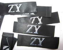 free shipping custom clothing labels/embroidered tags/collar labels/shirt tag/sewing labels custom/brand label 1000 pcs a lot