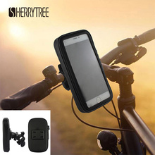 1x Mount Holder Bike Waterproof Bag  For iPhone 6 iPhone 7 4.7 Inch Bicycle Phone Case Or Equal Size Mobile