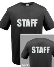 SECURITY POLICE STAFF T shirt men Custom Screen Printed On Front & Back T Shirt US standard plus size S-3XL