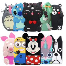 Best seller Soft Silicon 3D Minnie Rabbit Cat Cartoon Cell Phone Back Cover Case For Huawei GR3/Honor 5s/G8 mini/Enjoy 5S YK01
