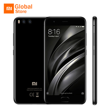 "Global Version Xiaomi Mi6 Mi 6 Smartphone 6GB 64GB ROM Snapdragon 835 Octa Core 5.15"" Dual Cameras Fast Charge NFC Android 7.1(China)"