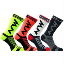 YF&TT Mens Women Breathable Nylon Riding Cycling Socks Bicycle sports socks Basketball Football Socks Fit 40-46(China)